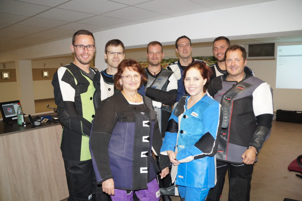2. Wettkampftag: Die erste Mannschaft aus Willprechtszell gegen unsere Freunde aus Gallenbach